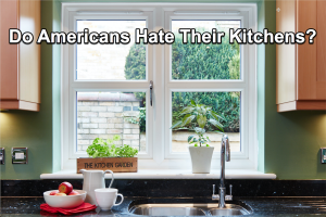 A survey of American's relationship to their kitchens reported that 10% said they loved to prepare food, 45% said they out right hated making food and 45% confessed to being ambivalent.
