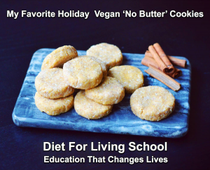 I want to share my Vegan Raw Butter Cookie Love Affair recipe with you