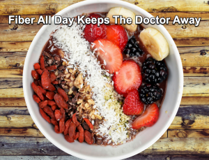 New studies have correlated Dietary Fiber in the prevention of many life threatening diseases