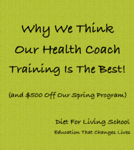 Our 3 month Certified Health Coach Program will give you the confidence to go forward
